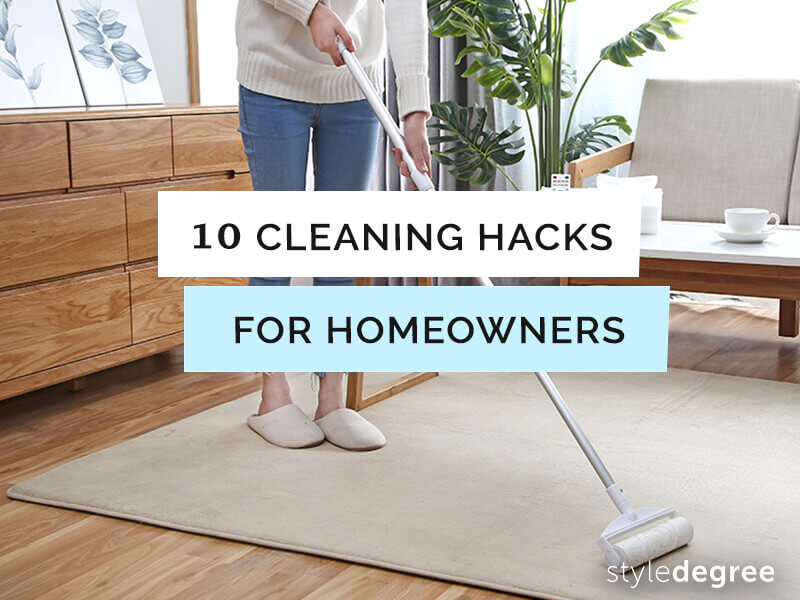Cleaning Hacks For Homeowners, Natural Cleaning Agents, Cleaning Tools, Singapore, sg, Style Degree