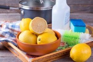 Lemon, natural cleaner, natural cleaning agent, lemons, Style Degree