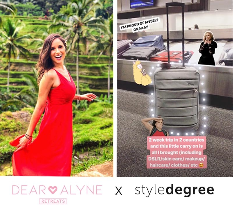 3 Secrets On Packing Light Ft. Dear Alyne