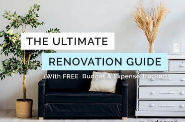 Ultimate Renovation Guide In Singapore (With FREE Excel Budget & Expense Tracker)
