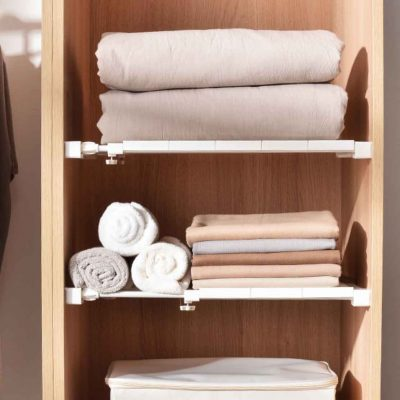 Extendable Wardrobe & Cabinet Shelf Divider