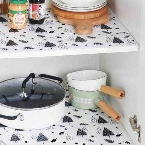 Pattern Kitchen Shelf & Drawer Liner Mat Cabinet Wardrobe Closet Liners Style Degree Sg Singapore