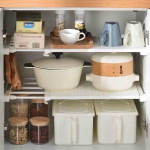 Extendable Wardrobe & Cabinet Shelf Divider Shelves Kitchen Bathroom Closet Style Degree Sg Singapore