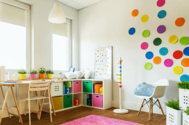 13 Space-Efficient & Unique Kids Room Organization Ideas