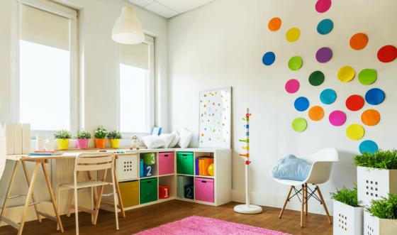 13 Space-Efficient & Unique Kids Room Organization Ideas
