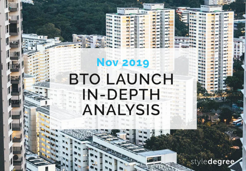 UPDATED: November 2019 BTO Sales Launch An In-depth Analysis