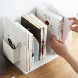 Minimalist Book Divider Organizer Desk Bookshelf Organizer Storage Style Degree Sg Singapore