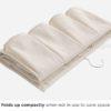Pockets 2-Sided Wardrobe Hanging Organizer Closet Undergarment Tie Belt Socks Holder Style Degree Sg Singapore