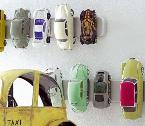 Magnetic Rack for Toy Cars, Kids Room Organization Ideas, Unique Efficient Kids Room Ideas, Style Degree, SG, Singapore, StyleMag