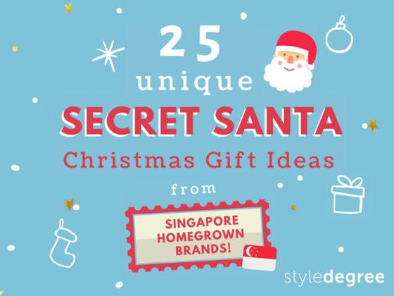 25 Unique Secret Santa Christmas Gift Ideas From Singapore Homegrown Brands