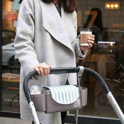 Journeyer Stroller Organizer Bag Baby Pram Pouch Bag Holder Style Degree Sg Singapore