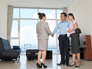 Couple with property agent, Buying a second home in SIngapore, HDB or private, Second Property, Style Degree, Singapore, SG, StyleMag