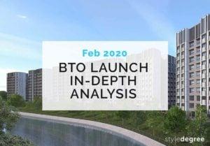 February 2020 BTO Launch Singapore