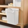 Easy Hanging Kitchen Cabinet Dustbin Trash Bin Cooking Chopping Cleaning Style Degree Sg Singapore