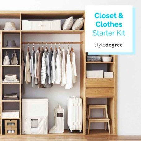 Closet Wardrobe Clothes Organization Starter Kit Storage Box Style Degree Sg Singapore