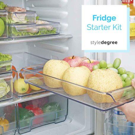 Fridge Starter Kit Food Container Kitchen Organizer Style Degree Sg Singapore