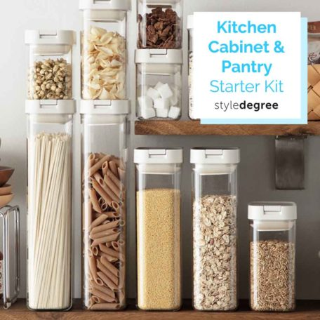 Kitchen Cabinet & Pantry Starter Kit Airtight Food Containers Style Degree Sg Singapore