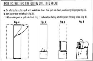 Folding organizing quilt, bedroom organizing, Style Degree, Singapore, SG, StyleMag