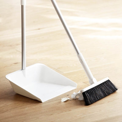 Pristine 180° Rotatable & Extendable Broom Dustpan Sweep Floor Cleaning Accessories Style Degree Sg Singapore