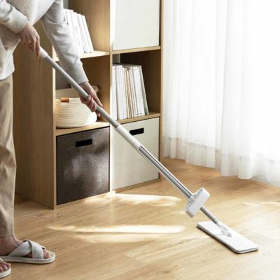 Magic Self-standing Reusable Wiper Mop Floor Cleaner Cleaning Accessories Style Degree Sg Singapore