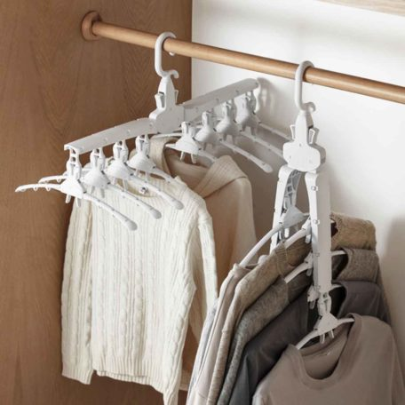 Space-saving Foldable Multi Clothes Hanger