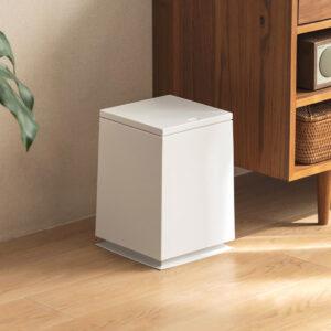Futura Square Dustbin Trash Bin Living Room Kitchen Style Degree Sg Singapore