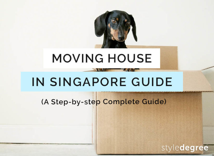 Moving House in Singapore: A Step-By-Step Guide For Newbies