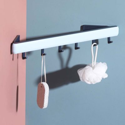 Eclectic Adjustable Wall Hanger Hanging Hook Holder Corner Kitchen Bathroom Toilet Style Degree Sg Singapore