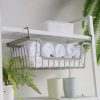 Rustic Multi Stackable & Hangable Basket Kitchen Cabinet Shelf Closet Wardrobe Style Degree Sg Singapore
