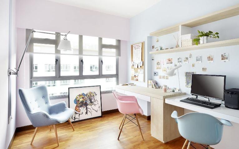 10 Stylish Yet Functional Hdb Study Room Designs Style Degree