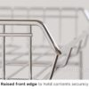 Stainless Steel Stackable Rack Kitchen Cabinet Pots Pans Countertop Bathroom Shelf Style Degree Sg Singapore