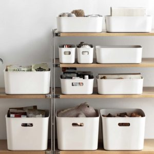 Essential Storage Bins Box Kitchen Bathroom Cabinet Organizer Style Degree Sg Singapore