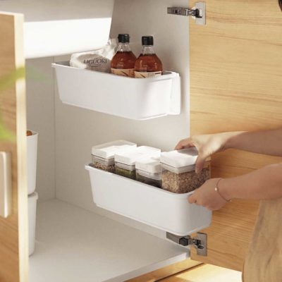 Sliding Under Sink Cabinet Wall Storage Kitchen Bathroom Toilet Style Degree Sg Singapore