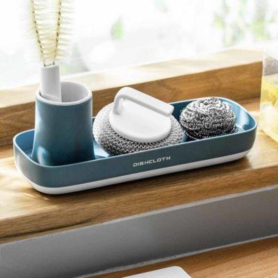 Slim sink organizer, basin organiser for sponges, Style Degree, sg, Singapore