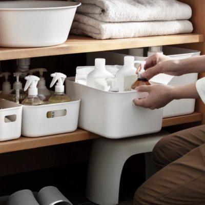 Essential Storage Bins Box Kitchen Bathroom Cabinet Organizer Style Degree Sg Singapore