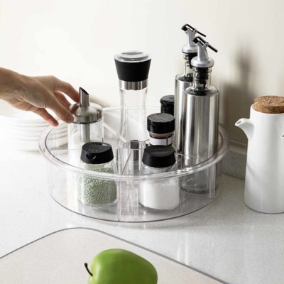 Klear Lazy Susan (With Dividers)