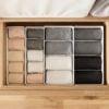 Rectangle Closet & Desk Organizer Box Wardrobe Storage Undergarment Underwear Ties Accessories Holder Style Degree Sg Singapore