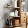 The Scandinavian Kitchen & Pantry Standing Shelf Cabinet Rack Children Kids Style Degree Sg Singapore