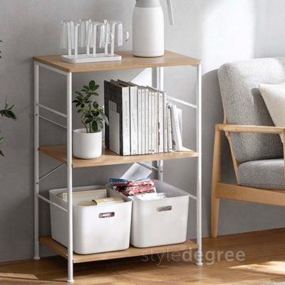 The Scandinavian Kitchen & Pantry Standing Shelf Cabinet Rack Children Kids Style Degree Sg Singapore