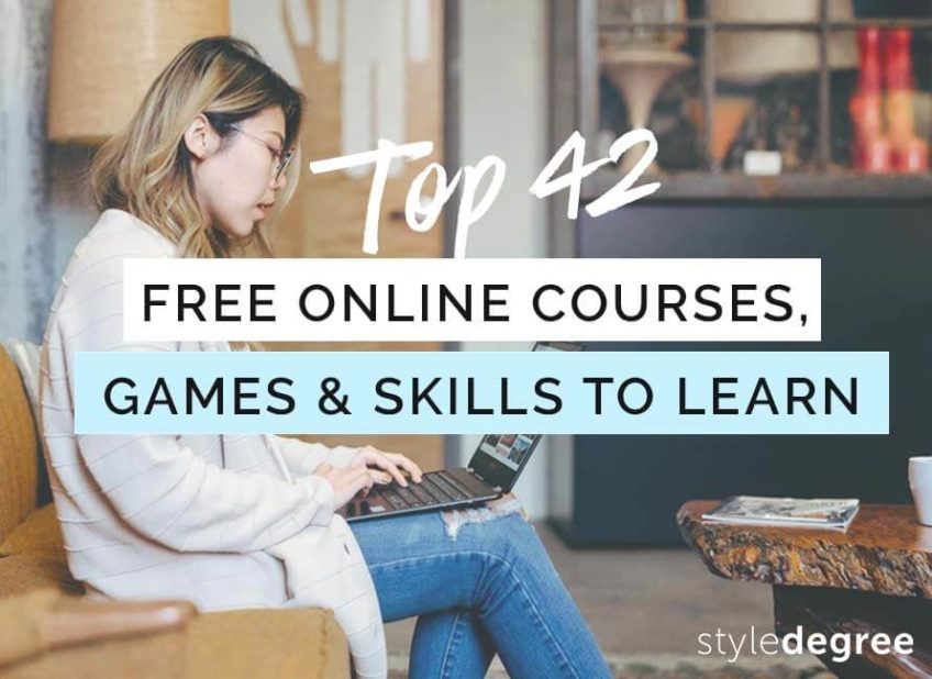 42 FREE Online Courses, Games & Skills To Learn While Staying Home