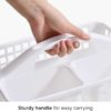 Easy Carry Toiletries Basket Bathroom Storage Box Container Style Degree Sg Singapore
