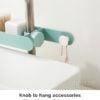 Pastel Tap & Faucet Sponge Holder Towel Hanging Organizer Style Degree Sg Singapore