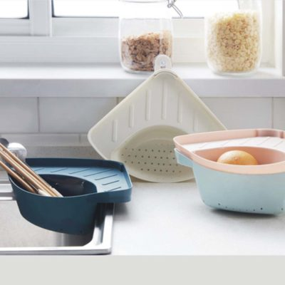 Sponge & Soap Basin Organizer Sink Organiser Sponge Holder Kitchen Cleaning Style Degree Sg Singapore