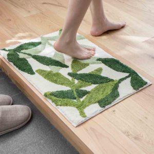 Nature Absorbent Floor Mat Bath Bathroom Toilet Mats Microfiber Soft Style Degree Sg Singapore