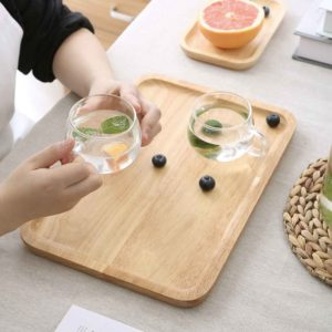Oishii Wooden Tray Platter Pantry Dining Coffee Table Trays Style Degree Sg Singapore