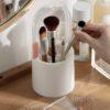 Capsule Makeup Brush Holder Cosmetic Organizer Vanity Table Desk Style Degree Sg Singapore