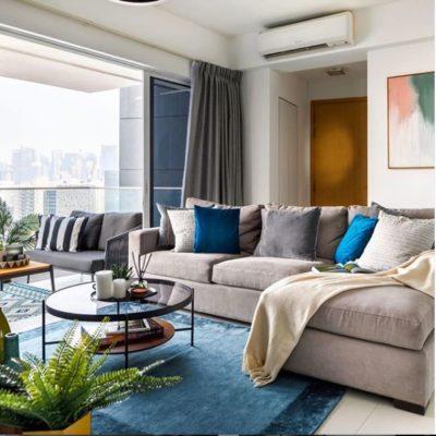 Blue Carpet, Rug, Interior Design,Style Degree, Singapore, SG, StyleMag