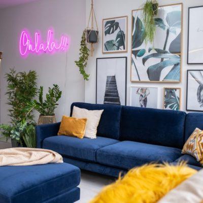 Blue Sofa, Blue Ideas, Style Degree, Singapore, SG, StyleMag