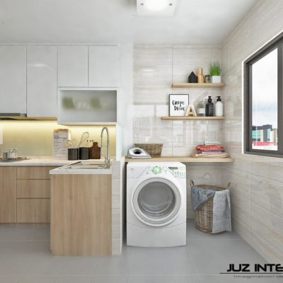 Build A Counter Over Washer, Service Yard Ideas, Maximise Space, Style Degree, Singapore, SG, StyleMag