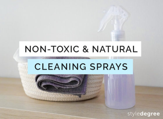 7 Non-Toxic & Natural Cleaning Sprays You Can Easily Make At Home
